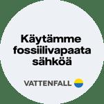 Käytämme fossiilivapaata sähköä - Vattenfall