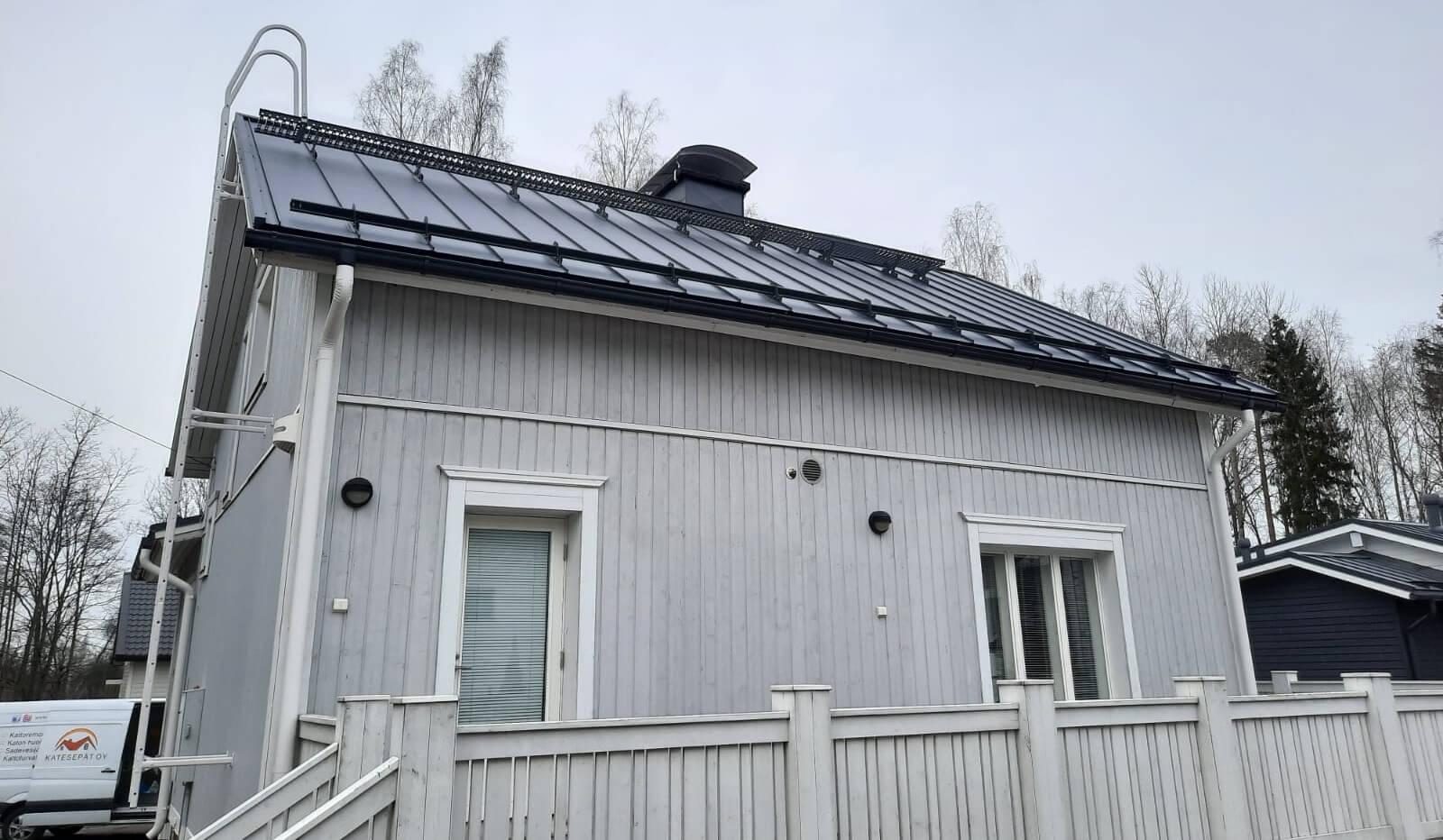 katon korjaus ja huolto
